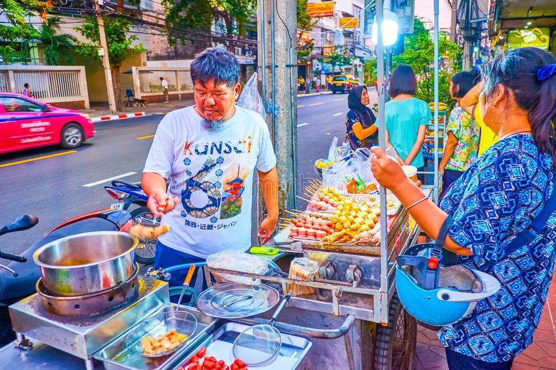разносчиков пищи в бангкоке