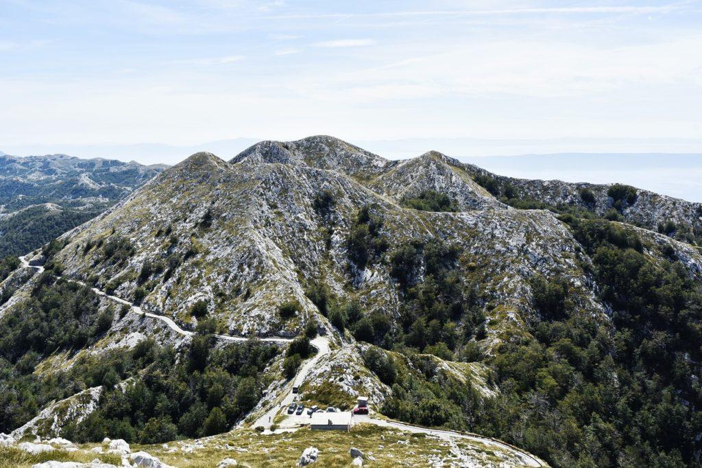 горный хребет Биоково